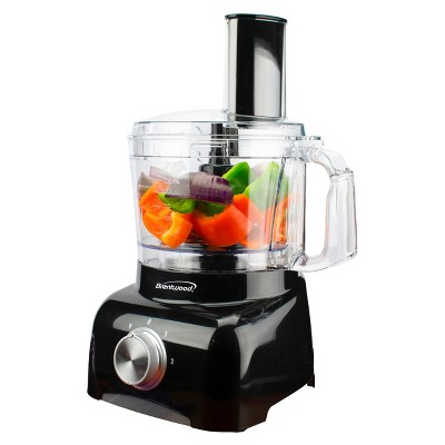 Brentwood 5 Cup Food Processor in Black
