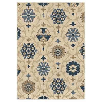 Orian Rugs Indio Napa Indoor/Outdoor Area Rug - Ivory
