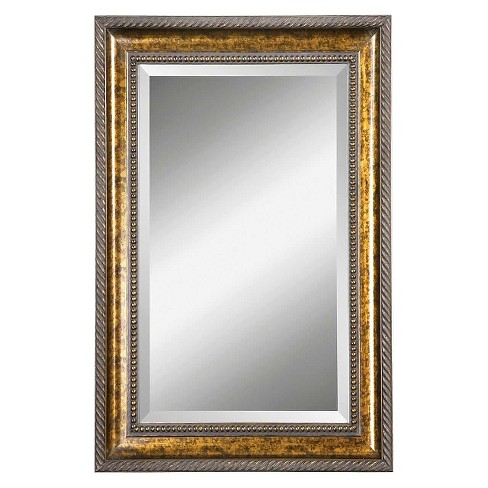 Rectangle Sinatra Decorative Wall Mirror Bronze - Uttermost - image 1 of 1