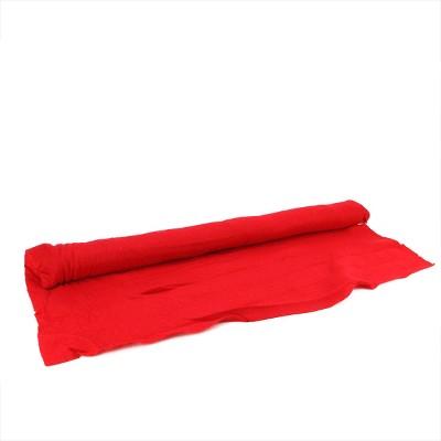 """LB International 96"""" x 36"""" Red Artificial Powder Snow Christmas Drape Cover"""
