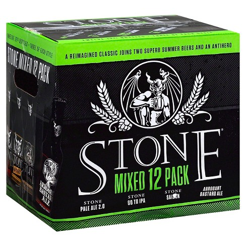 Stone Mixed Variety Pack - 12pk / 12 fl oz Bottles - image 1 of 2