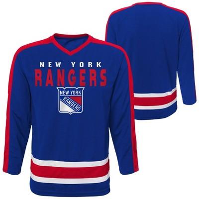 NHL New York Rangers Boys' Jersey - L