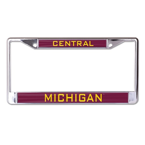 NCAA Central Michigan Chippewas License Plate Frame - image 1 of 1