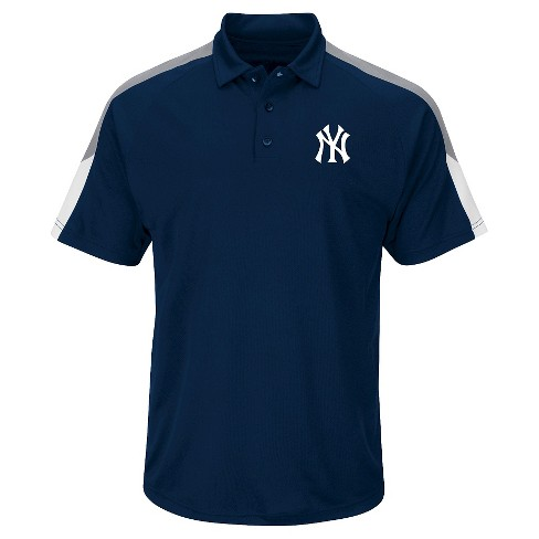 New York Yankees Mens Polo S - image 1 of 1