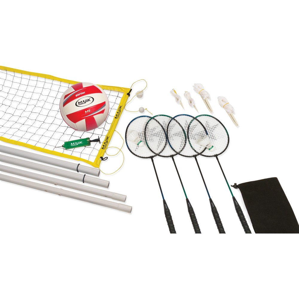 Image of Combo - Badminton/Volleyball - Caddy