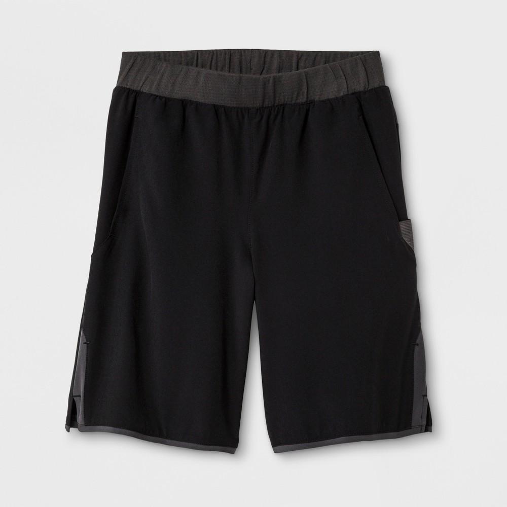 Boys' Tennis Shorts - C9 Champion Black S