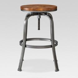 Outstanding Dakota Adjustable Wood Seat Barstool Threshold Target Forskolin Free Trial Chair Design Images Forskolin Free Trialorg