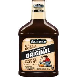 KC Masterpiece Barbecue Sauce Original - 40oz