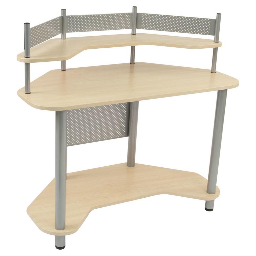 Corner Desk - Light Silver - Studio Designs