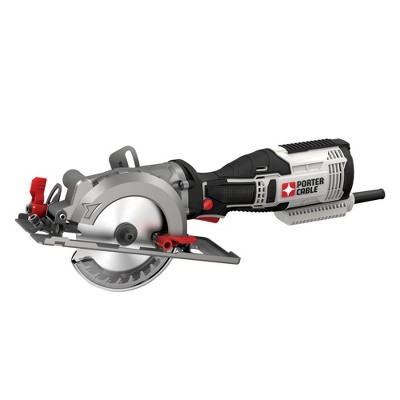 Porter-Cable PCE381KR 5.5 Amp 4-1/2 in. Compact Circular Saw Kit