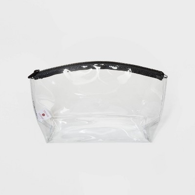 Zip Closure Clear Dome Pouch Clutch - Shade & Shore™ Clear
