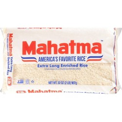 Mahatma® Extra Long Grain Enriched Rice - 32oz