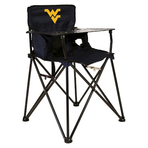 ciao! baby® West Virginia Mountaineers Portable High Chair in Dark Blue - image 1 of 1