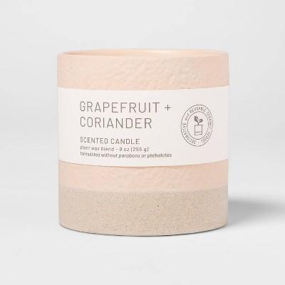 Wellness Ceramic Candle Grapefruit and Coriander - Project 62™