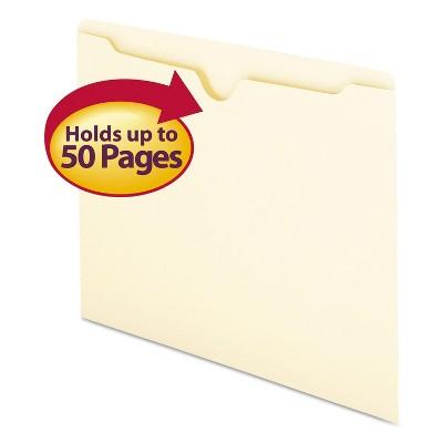 Smead Manila File Jackets Letter 11 Point Manila 100/Box 75410