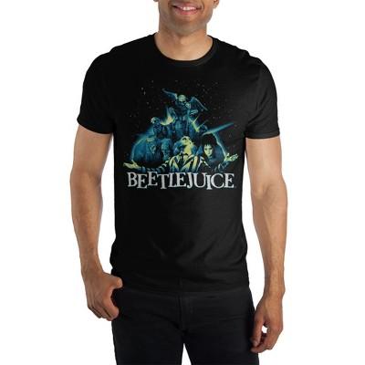 Beetlejuice Group Black T-Shirt