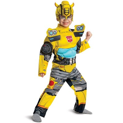 Transformers Bumblebee Eg Muscle Toddler Costume