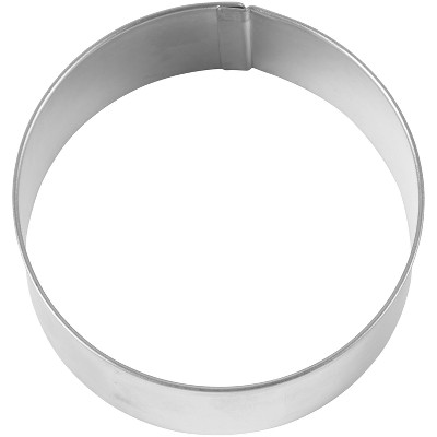 Silver Metal Circle Cutter - Wilton