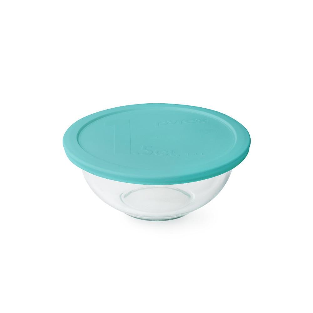 Pyrex 1.5qt Mixing Bowl Aqua (Blue)