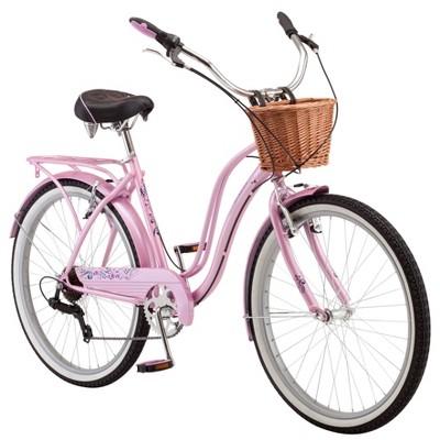 "Schwinn Women's Lulu 26"" Cruiser Bike - Pink/White"