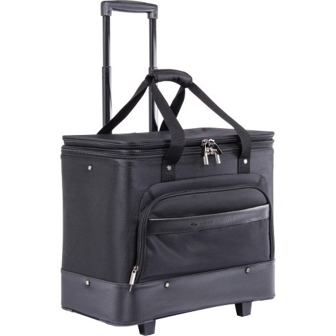 "Swiss Mobility Business Case Carrying Case (Roller) for 17.3"" Notebook - Black - image 1 of 1"