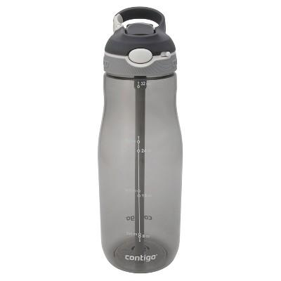 Contigo AUTOSPOUT 32oz Straw Ashland Water Bottle Gray