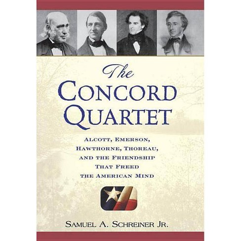 The Concord Quartet - by  Samuel A Schreiner (Hardcover) - image 1 of 1
