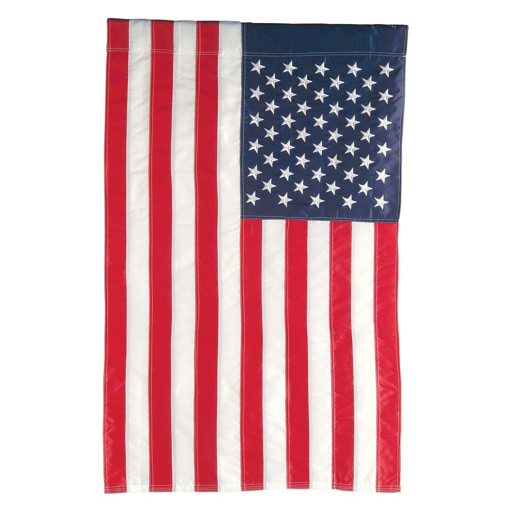 """Image of """"44""""""""x 28"""""""" Polyester Flag - Evergreen"""""""