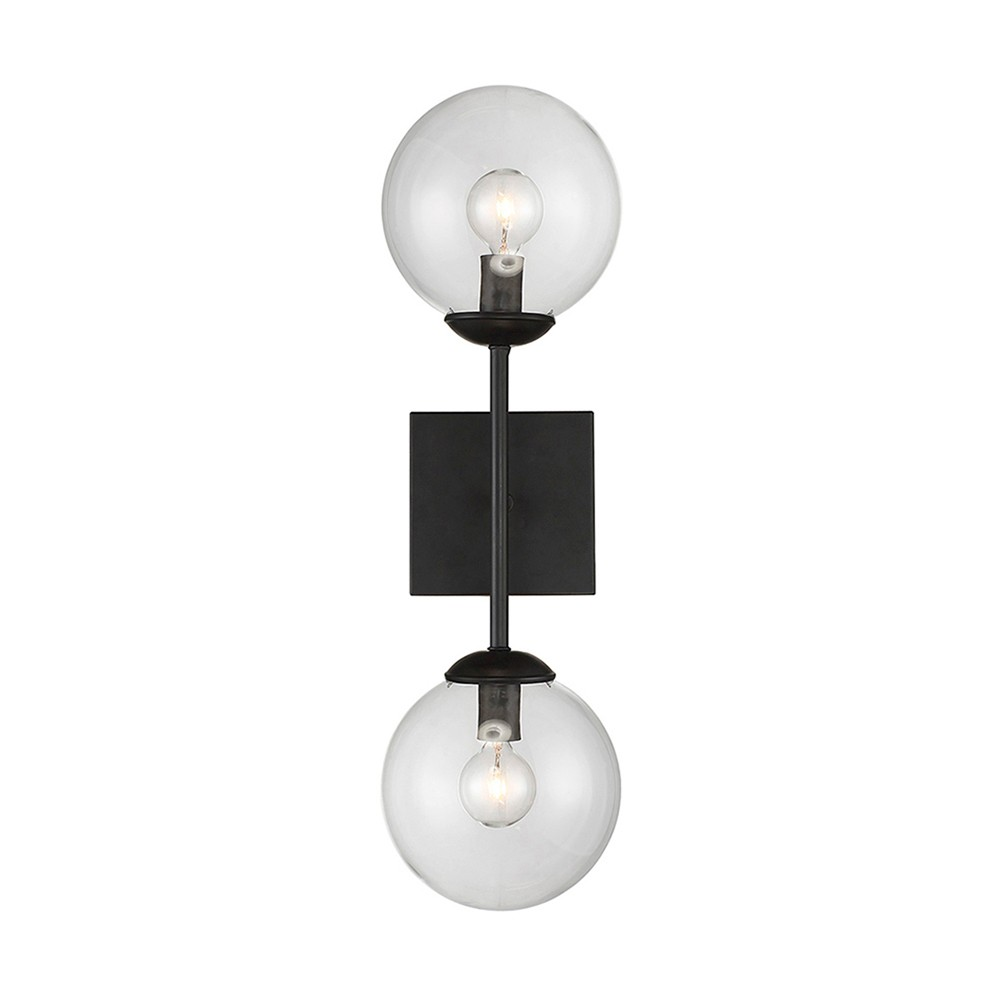 Image of Wall Lights Sconce Black - Aurora Lighting
