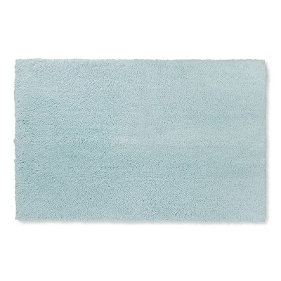 38 x24  Tufted Spa Bath Rug Light Blue - Fieldcrest®