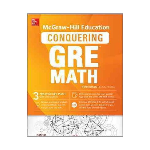 Mcgraw Hill Education Conquering The New Gre Math Paperback Phd