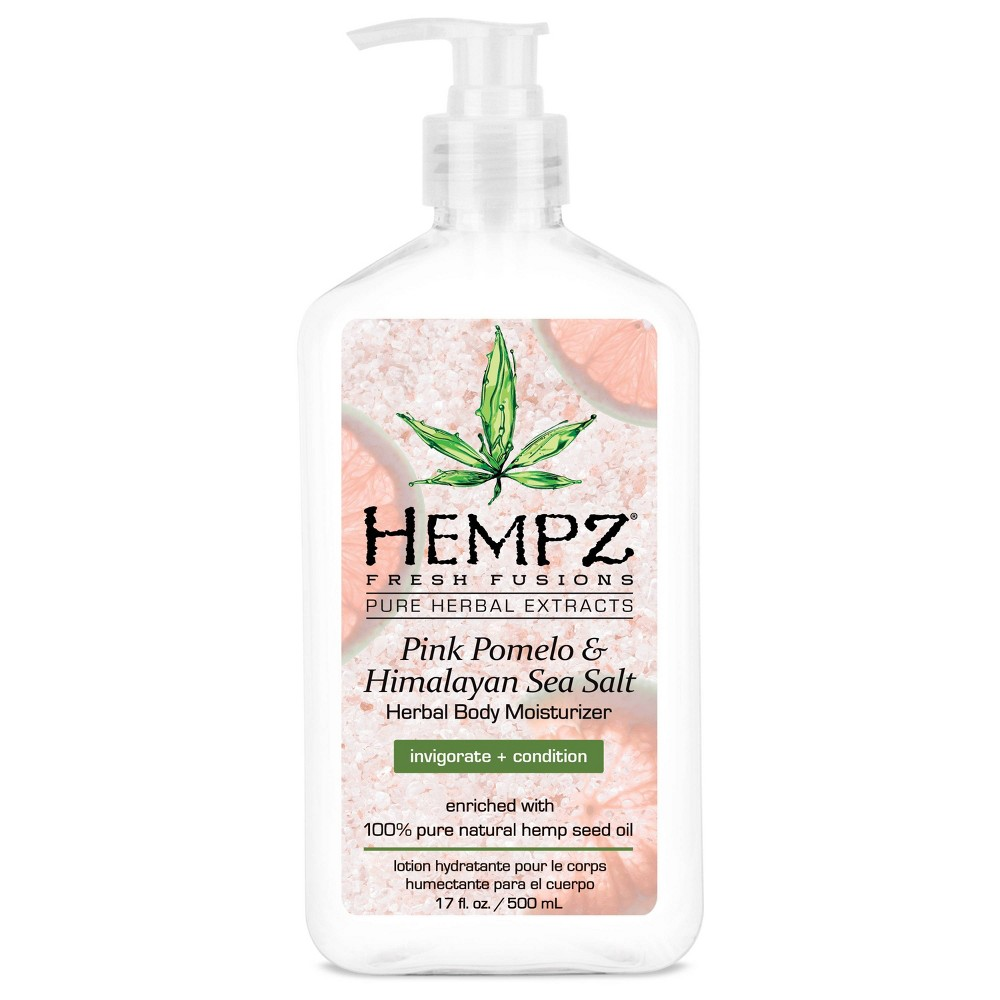 Image of Hempz Pink Pomelo Sea Salt Hand And Lotion - 17 fl oz