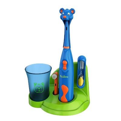 Brusheez Buddy the Bear Children's Electric Kids Toothbrush Set