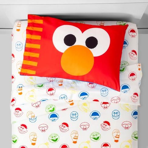 Sesame Street Elmo Twin Sheet Sets