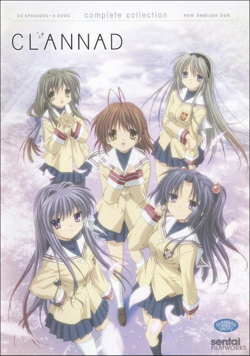 Clannad:Complete collection (DVD) - image 1 of 1