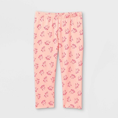 Girls' Unicorn Capri Leggings - Cat & Jack™ Pink