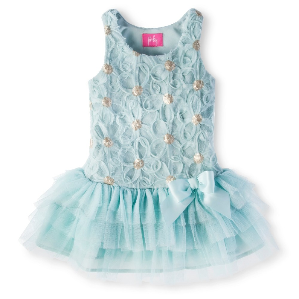 Toddler Girls' Pinky Tutu Dress - 3T, Blue