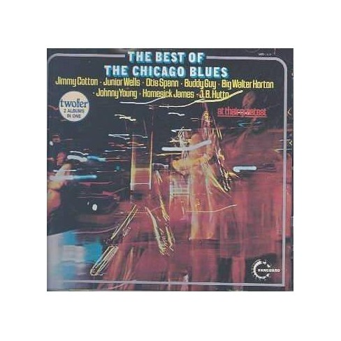 Various Artists - Best of Chicago Blues (CD) - image 1 of 2