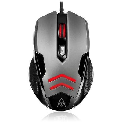 Adesso Multi-Color 6-Button Gaming Mouse - Optical - Cable - Multicolor - USB - 3200 dpi - Scroll Wheel - 6 Button(s)