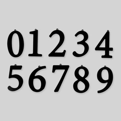 10pc Metal Numbers - Bullseye's Playground™