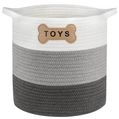 Park Life Designs Livra Toy Basket - Gray