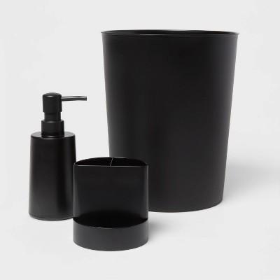 Bath Coordinates Bundle Black - Room Essentials™
