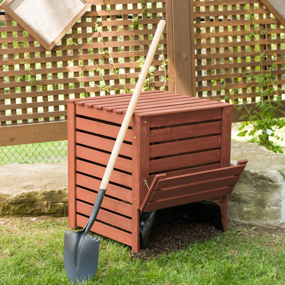 Image of Compost Bin - Brown - Leisure Season