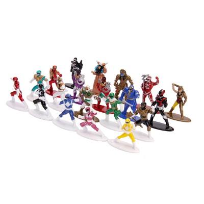 "Power Rangers Nano METALFIGS 20-pk 1.65"" Die-Cast Collectible Figure"