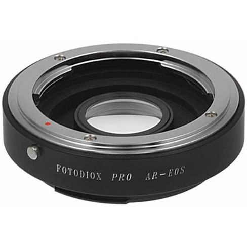 Fotodiox Pro Mount Adapter with 1.4x Multi-Coated Focusing Correction Lens for Konica AR Lens to Canon EOS EF-Mount Camera, No Focus Confirmation Chip - image 1 of 4