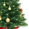 Best Choice Products 22in Pre-Lit Tabletop Artificial Christmas Tree w/ LED Lights, Berries, Ornaments - image 4 of 4