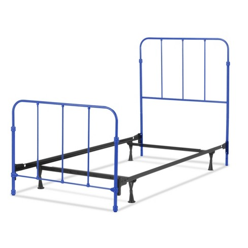 Nolan Complete Kids Bed with Metal Duo Panels - Colbalt Blue - Full - Fashion Bed Group - image 1 of 6