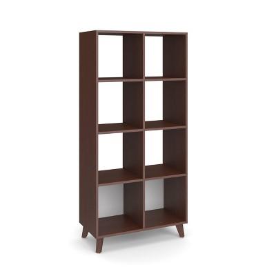 "66"" High Modern Cube Bookcase - HON BASYX"