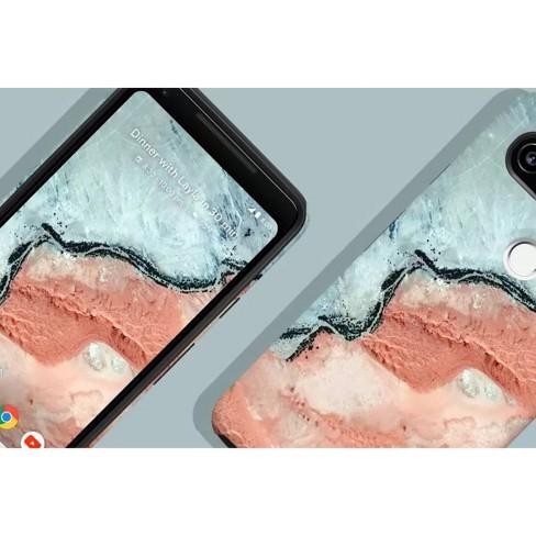 100% authentic ef3e9 3d0c5 Google Pixel 2 XL Earth Live Case - River
