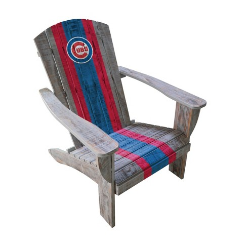 MLB Chicago Cubs Wooden Adirondack Chair - image 1 of 2